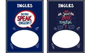 portadas para cuaderno de ingles