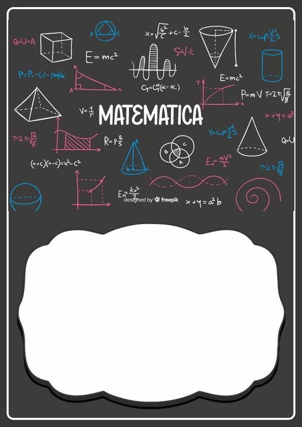 Portadas de Matemática