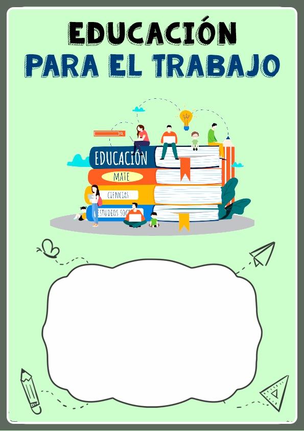 Portadas de Educación para el Trabajo