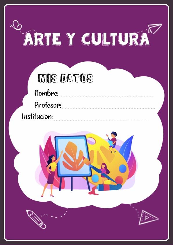 Portadas de Arte y Cultura