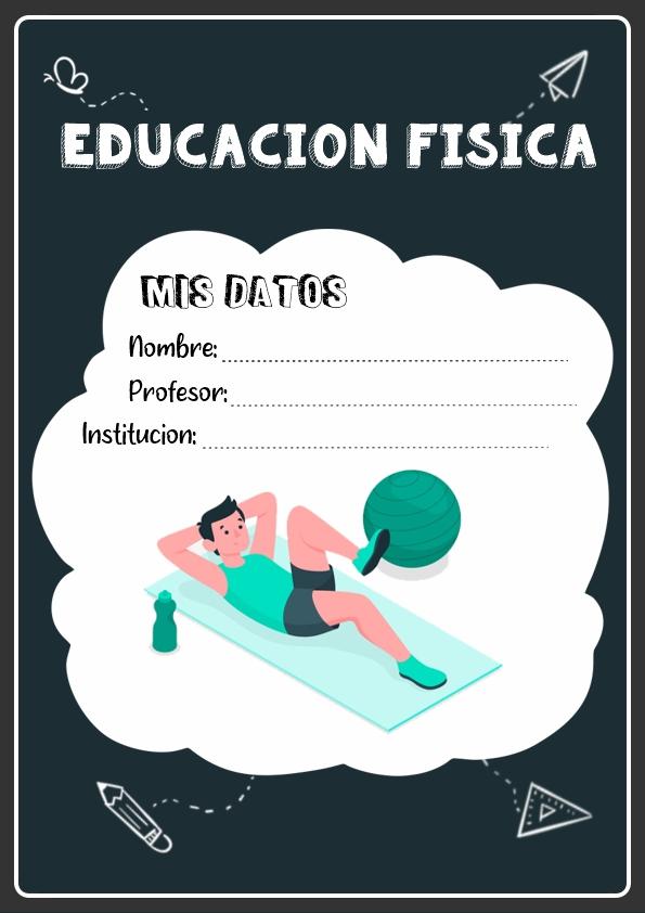 Portadas de Educación Física