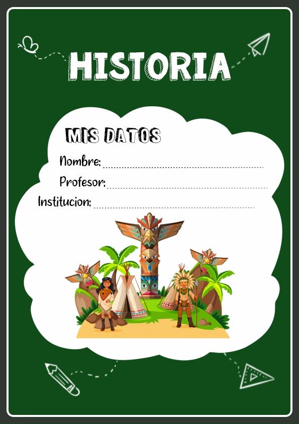 Portadas de Historia