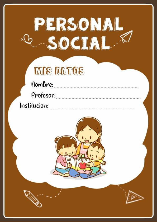 Portadas de Personal Social