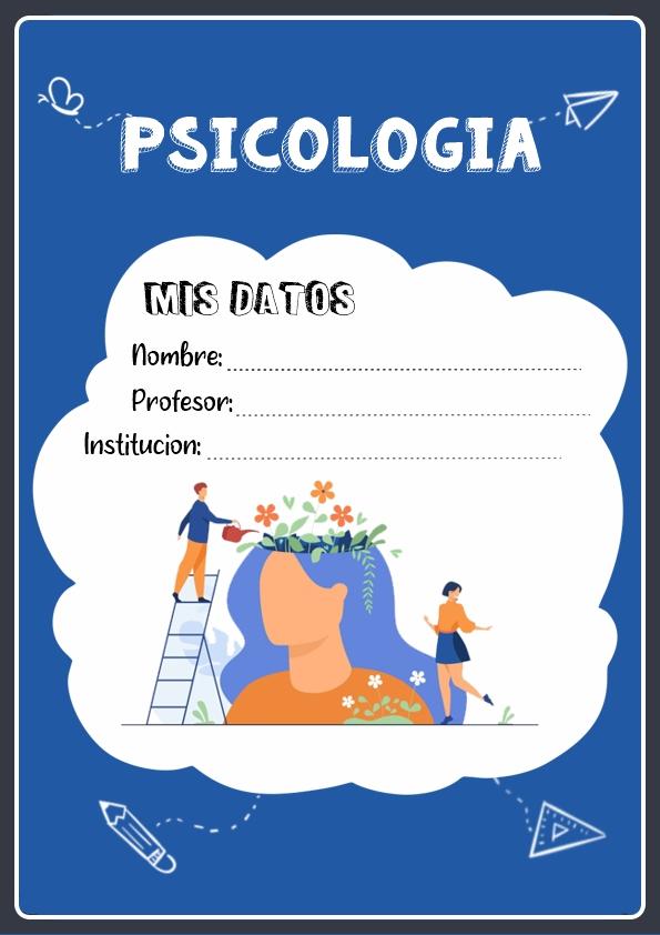 Portadas de Psicología