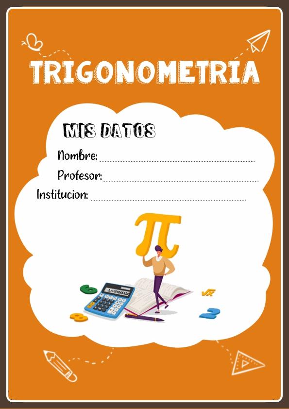 Portadas de Trigonometría